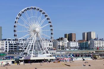 Ferris wheel, Brighton