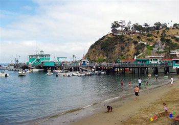 Santa Catalina harbor