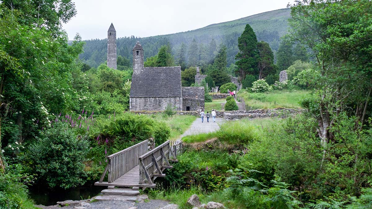 Glendalough churchyard