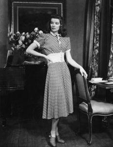 Katharine Hepburn on stage