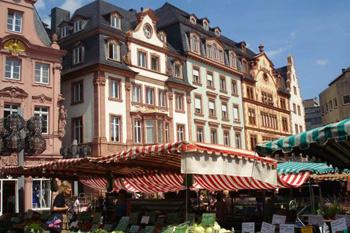 street in Mainz, Germany