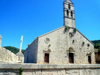 Our Lady of Caves church, Vis, Croatia