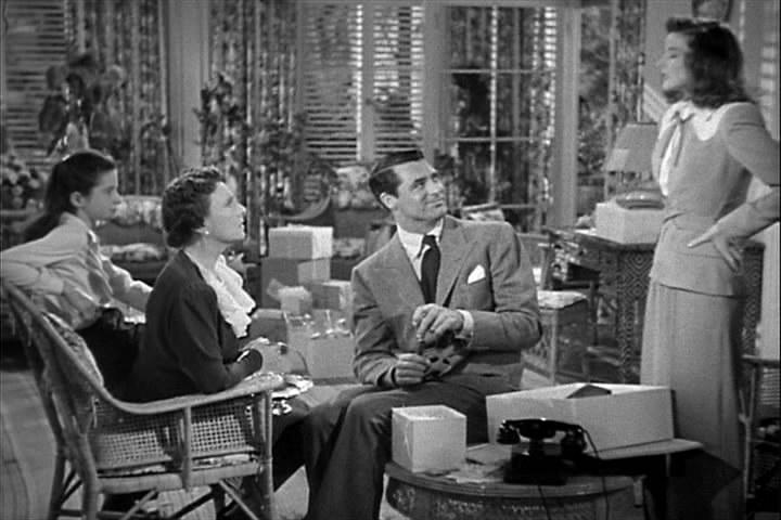 scene from The Philadelphia Story