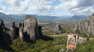 Meteora Valley, Greece