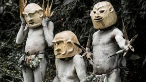 mudmen Papua New Guinea
