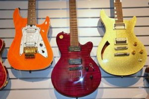 guitars in Museum of Music
