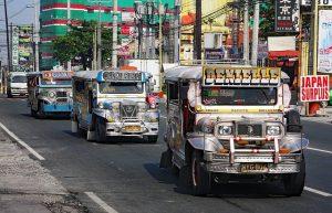 buses in Manila