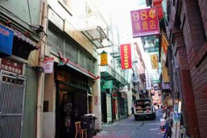 Ross Alley in San Francisco's Chinatown