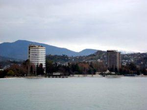 Sukhumi waterfront