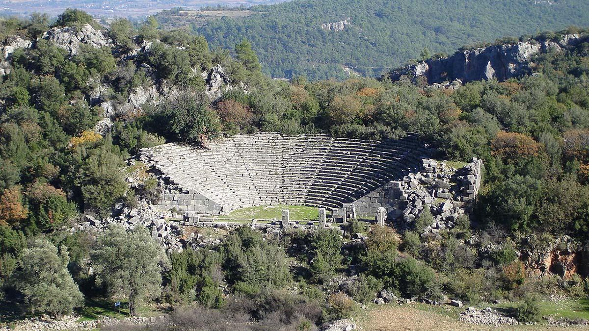 Amphitheatre at Fethiye, Tukey