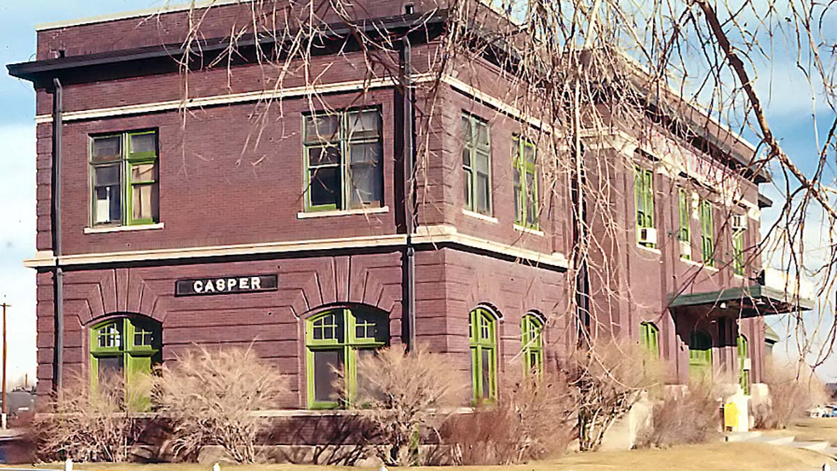 Casper Wyoming railroad station