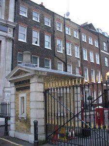 Ely Place gatehouse