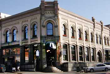 historic building in Fairhaven, Washington
