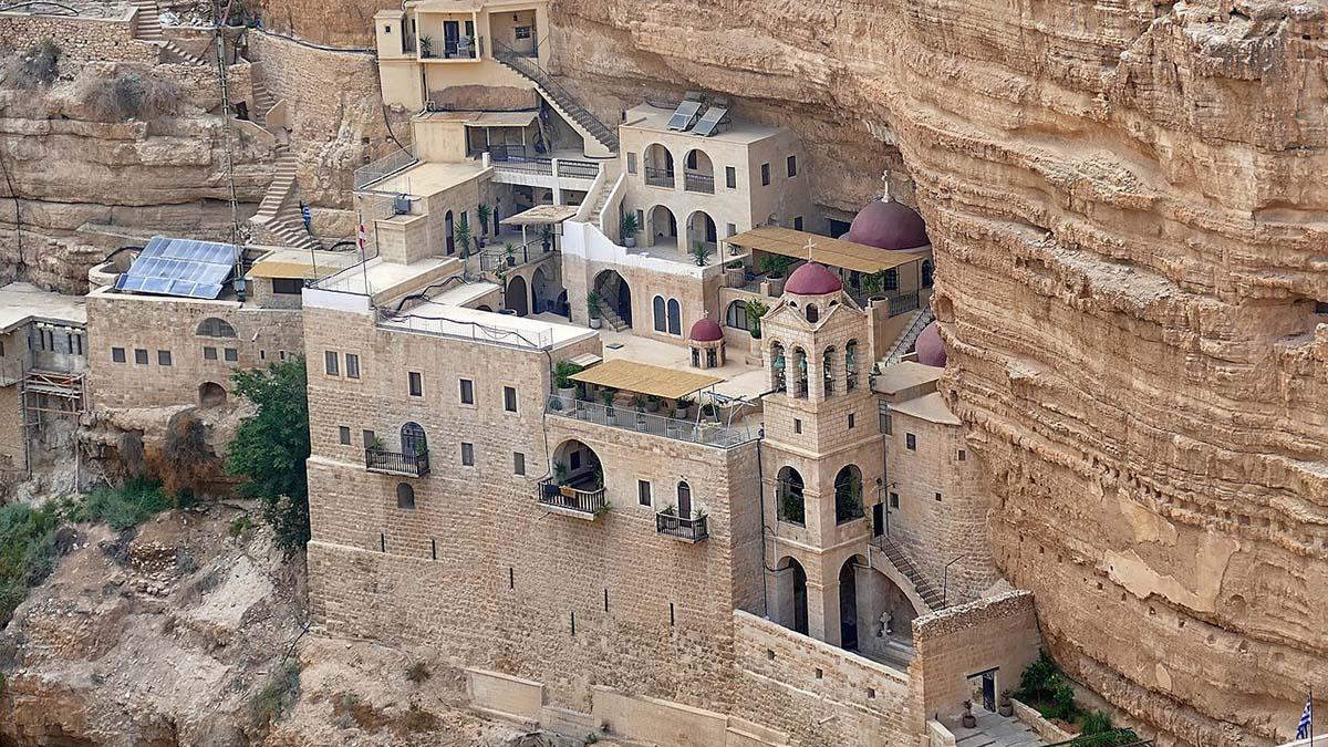 St. George monastery, Jericho, Israel