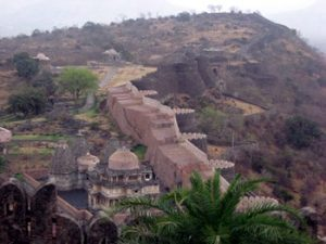 section of Fort Kumbhalgarh wall