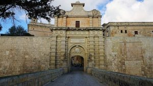 city walls of Mdina, Malta