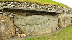 Newgrange stones detail