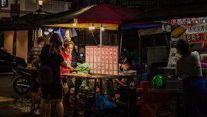 food stall in Penang, Malaysia