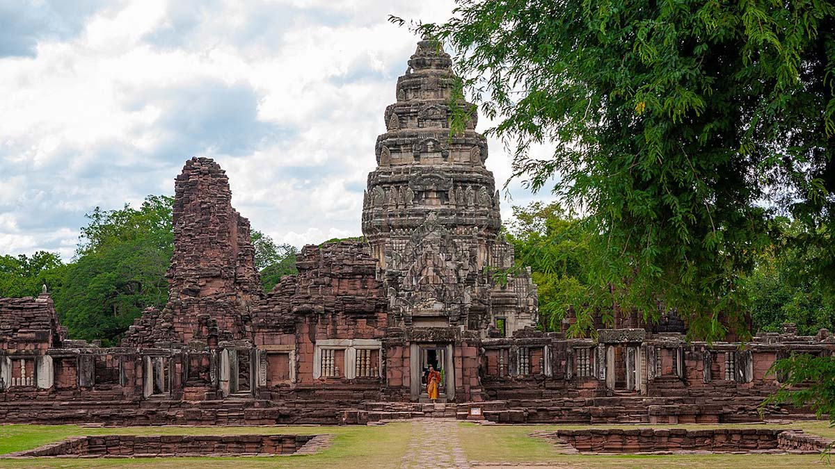 temple in Phimai, Thailand