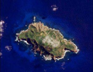 Pitcairn Island satellite image