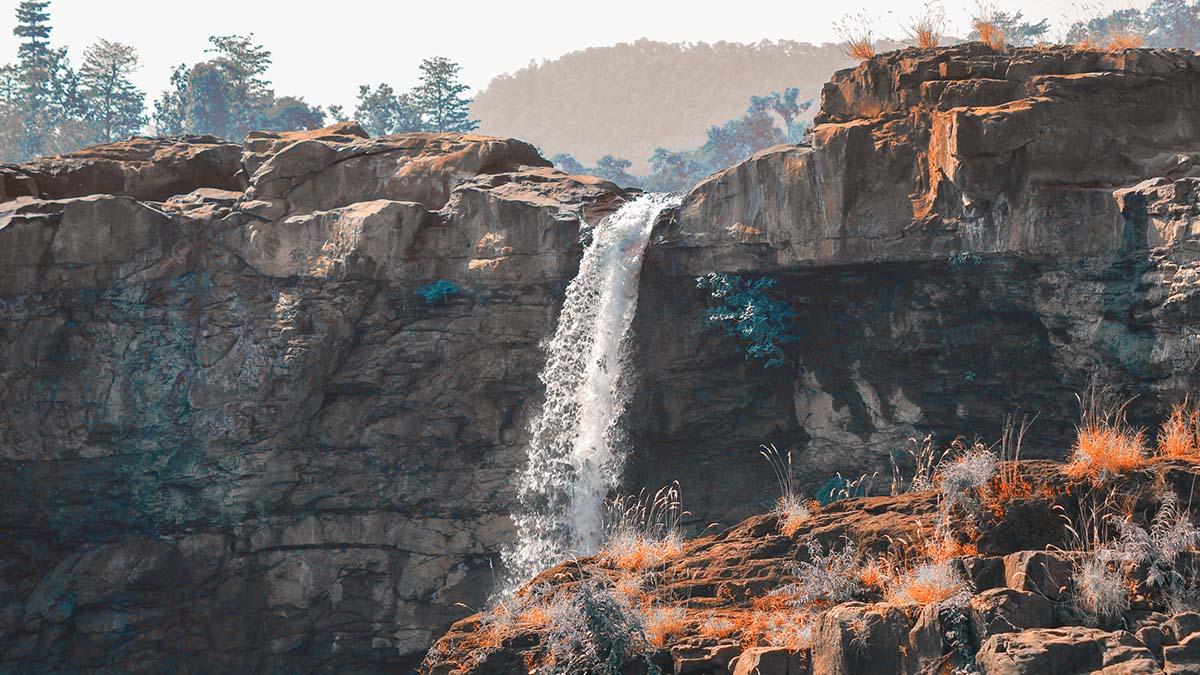 Saputara waterfall
