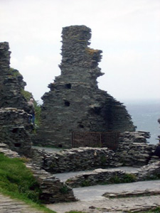 ruins of Tintagel Castle