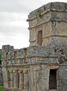 detail view of Tulum citadel