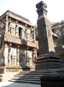 Kailasa temple at Ellora