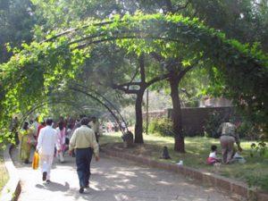 garden of Ajanta Tourist complex
