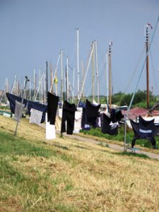 laundry drying in Monnickendam