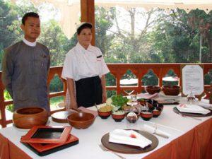 Myanmar cooking class