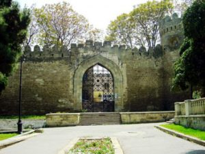 Baku city gate