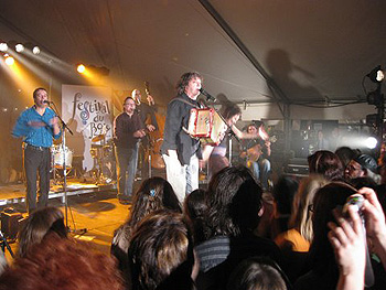 La Bottine Souriante performing in Maillardville