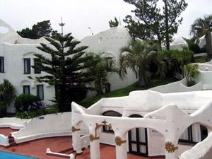 exterior of Casepueblo residence