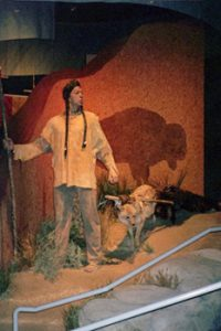Native American exhibit in Casper museum