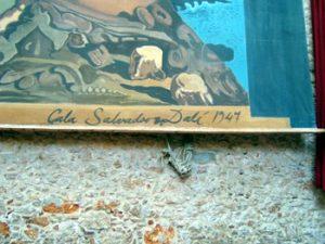 Salvador Dalí signature