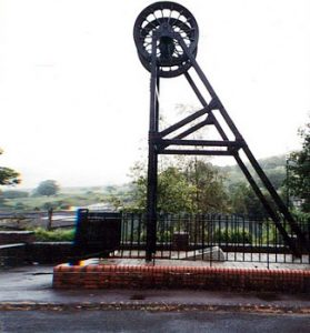 Senghenydd memorial to coal mine disaster