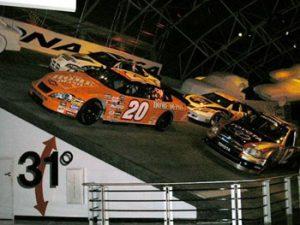 exhibit in Daytona International Speedway museum