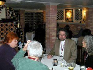 diners at Cellar restaurant