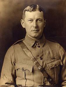 John McCrae in uniform