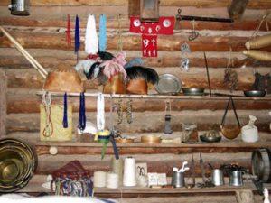 artifacts in fur post museum