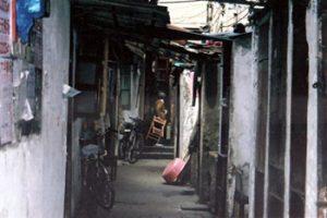 Hangzhou deserted street