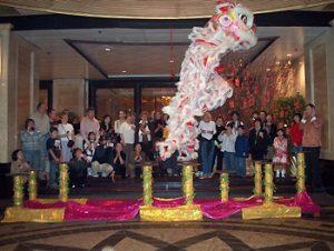 Hong Kong lunar new year celebration