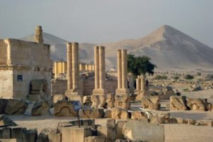remains of Caliph Hisham's Palace