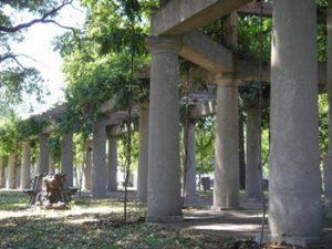 Louisville Central Park colonnade