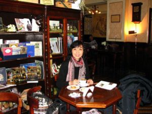 The author, Veronica Yeung