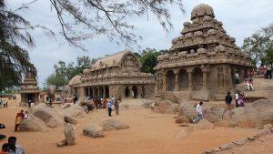 Mahabalipuram carved temples