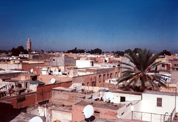 city of Marrakech, Morocco