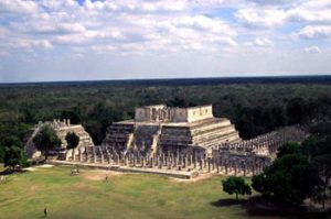 overview of Chichen Itza