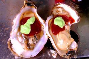Fire and Ice Oysters